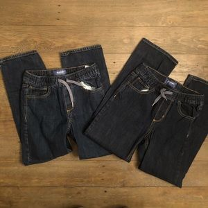 Old Navy Boys Pull On Jeans Large